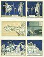 Banknotes Kahla. Stadt. Série de 6 billets. 75 pf (6ex) 1.12.1921, sans numérotation, série politique