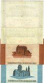 Banknotes Kaiserslautern. Stadt. Billets. 200000, 500000, 1, 2 millions mark 15.8.1923