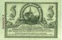 Banknotes Kamenz. Amtshauptmannschaft. Billet. 5 mark 15.11.1918. Annulation par numérotation barrée en rouge