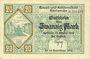 Banknotes Karlsruhe. Stadt. Billet. 20 mark 16.10.1918