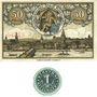 Banknotes Kitzingen. Stadt. Billets. 50 pf n.d. - fin août 1920, 1 pf n.d. (1920)