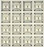 Banknotes Kitzingen. Städtische Sparkasse. Bloc de 2 séries de 8 billets. 1 pf 1920. Type sans filigrane