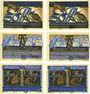 Banknotes Kneitlingen. Gemeinde. Série de 6 billets. 50 pf (2ex), 75 pf (2ex), 1 mk (2ex) 1.7.1921 (1922)