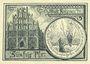 Banknotes Königsberg N. M. (Krzywka, Pologne). Stadt. Billet. 50 pf février 1921