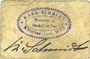 Banknotes Kötzing. Schmidt Karl Brauerei u. Gasthof. Billet. 25 pf 14.5.1921, type avec coins arrondis