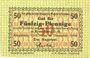 Banknotes Kreuzburg (Kluczbork, Pologne). Stadt. Billet. 50 pf 8.12.1916