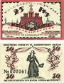 Banknotes Kreuzburg (Kluczbork, Pologne). Stadt. Billets. 25 pf, 50 pf 18.1.1921
