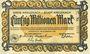 Banknotes Kreuznach. Kreis und Stadt. Billet. 50 millions mark 15.9.1923, série E