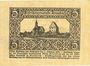Banknotes Krumbach. Distrikt. Billet. 5 mark 1.12.1918