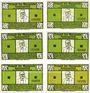 Banknotes Kummerfeld. Gemeinde. Série de 6 billets. 25 pf (2ex), 50 pf (2ex), 75 pf (2ex) (1921)