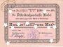 Banknotes Kusel. Stadt. Billet. 100 millions mark 25.9.1923, annulation par perforation