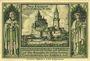 Banknotes Lähn (Wlen, Pologne). Städtische Sparkasse. Billet. 50 pf (1922), avec date et signature