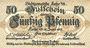 Banknotes Lahr. Stadt. Billet. 50 pf 12.6.1917