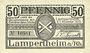 Banknotes Lampertheim a. Rh. Gemeinde. Billet. 50 pf 1.11.1920