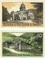 Banknotes Landeck. Bad (Ledyczek, Pologne). Billets. 25 pf, 50 pf 11.3.1921