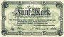Banknotes Landeshut (Kamienna Gora, Pologne), Stadt, billet, 5 mark 14.11.1918