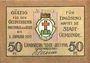 Banknotes Landsberg am Lech, Stadt, billet, 50 pf juillet 1918