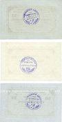 Banknotes Langenaltheim, Gemeinde, billets, 25 pf, 50 pf (2ex) 27.2.1917