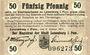 Banknotes Lauenburg i. P. (Lebork, Pologne), Stadt, billet, 50 pf 9.1.1917