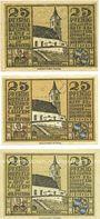 Banknotes Laufen-Tittmoning, Bezirksamt, billets, 25 pf 1920 (3ex)