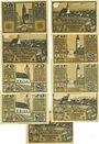 Banknotes Laufen-Tittmoning, Bezirksamt, billets, 50 pf (3ex), 25 pf (4ex), 50 pf (2ex)  1920