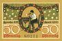 Banknotes Lauscha, Gemeinde, billet, 50 pf avril 1921