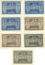 Banknotes Leipzig-Land, Volkshaus, billets, 50 pf n.d. - 30.6.1922 (7ex)