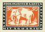 Banknotes Leipzig-Land, Zoologischer Garten, billet, 50 pf 3.5.1921