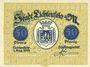 Banknotes Lichtenfels a. Main, Stadt, billet, 50 pf 1.9.1918