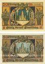 Banknotes Lichtenfels a. Main, Stadt, billets, 50 pf 23.2.1920 (2ex)