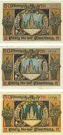 Banknotes Lichtenfels a. Main, Stadt, billets, 50 pf 23.2.1920 (3ex)