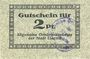 Banknotes Liegnitz (Legnica, Pologne), Allgemeine Ortskrankenkasse, billet, 2 pf, carton gris moucheté
