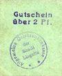 Banknotes Liegnitz (Legnica, Pologne), Allgemeine Ortskrankenkasse, billet, 2 pf