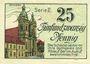 Banknotes Liegnitz (Legnica, Pologne), Landkreis, billet, 25 pf (1920), série II