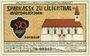 Banknotes Lilienthal, Sparkasse, billet, 50 pf 15.1.1921, série B