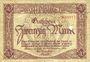 Banknotes Limburg a. d. Lahn, Stadt, billet, 20 mark 20.11.1918, annulation par perforation