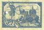 Banknotes Limburg a. d. Lahn, Stadt, billet, 5 mark 20.11.1918, annulation par perforation