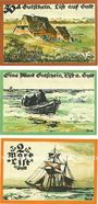 Banknotes List / Stylt, Gemeinde, série de 3 billets, 50 pf, 1 mark, 2 mark 21.7.1921