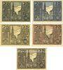 Banknotes Osterhofen. Stadt. Série de 5 billets. 25 pfennig 27.1.1917