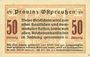 Banknotes Ostpreußen (Pologne, Russie, Lituanie), Provinzialverband, billet, 50 pf 10.12.1918, 2e émission