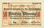 Banknotes Ostpreußen (Pologne, Russie, Lituanie), Provinzialverband, billet, 50 pf 10.12.1918, 3e émission