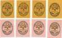 Banknotes Salzburghofen, Gemeinde, billets, 5 pf (4ex), 10 pf, 20 pf (4ex) 1920