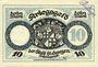 Banknotes St Georgen, Stadt, billet, 10 mark 1.11.1918