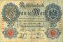 Banknotes Allemagne. Billet. 20 mark 10.3.1906 X, série C