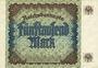 Banknotes Allemagne. Billet. 5 000 mark 2.12.1922. Série B