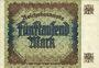 Banknotes Allemagne. Billet. 5 000 mark 2.12.1922. Série Y