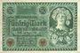 Banknotes Allemagne. Billet. 50 mark 23.7.1920. Série A