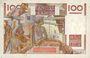 Banknotes Banque de France. Billet. 100 francs jeune paysan, 29.6.1950