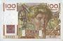 Banknotes Banque de France. Billet. 100 francs jeune paysan, 31.10.1946