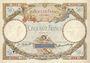 Banknotes Banque de France. Billet. 50 francs L. O. Merson, 4.1.1929